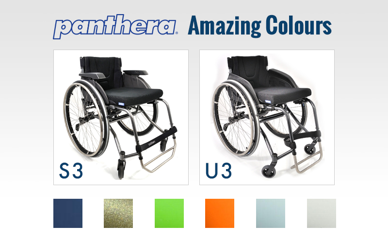 Panthera Wheelchairs Available Colours