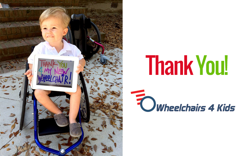 Miller receives a Panthera Micro Wheelchair