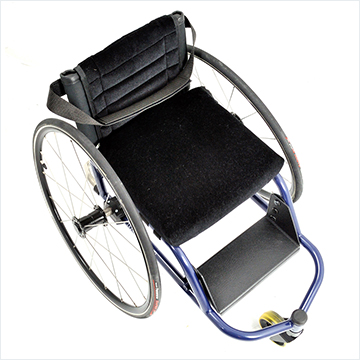 Panthera Micro Wheelchair - top view