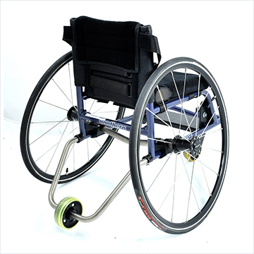 Panthera Micro Wheelchair - rear view