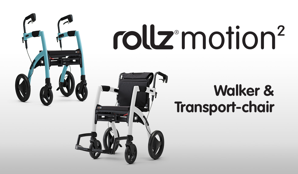 Rollz Motion 2 - Walker and Transport Chair